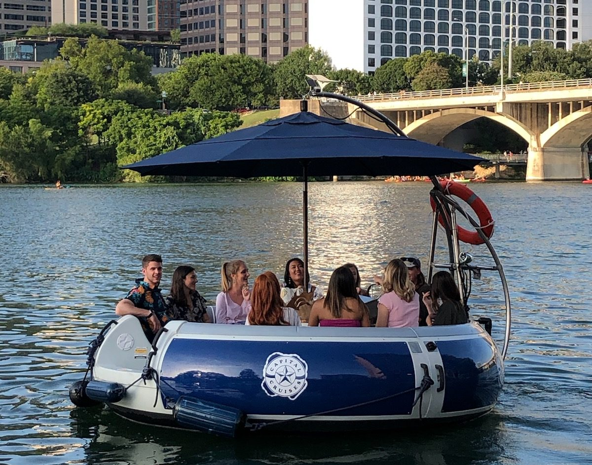 First Capital Cruises Donut Boat Ride